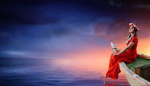 woman, boat, sky-3214594.jpg